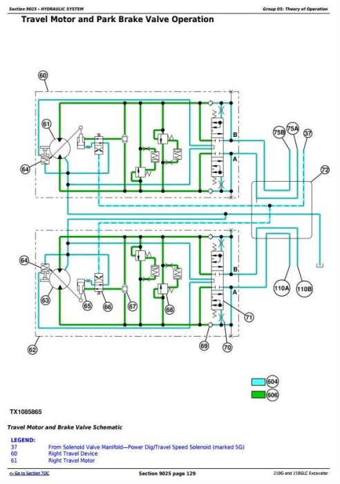 Fourth Additional product image for - John Deere 210G, 210GLC (iT4/S3B) Excavator Diagnostic, Operation and Test Service Manual (TM12330)