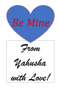 from yahusha with love