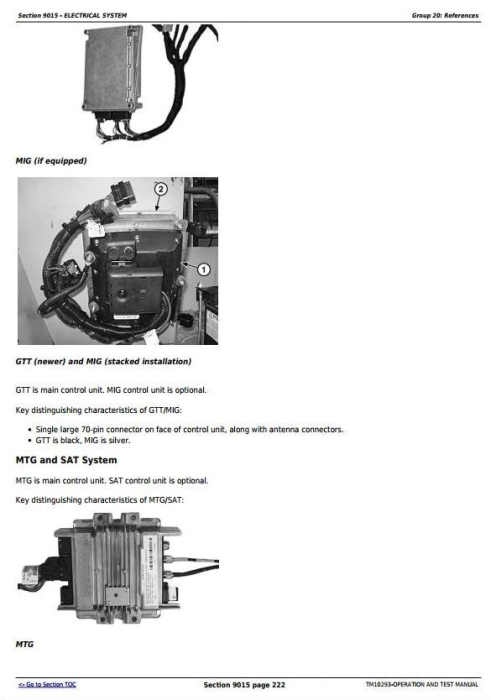 Fourth Additional product image for - John Deere 750J Crawler Dozer (S.N.141344-219962) Diagnostic and Test Service Manual (TM10293)