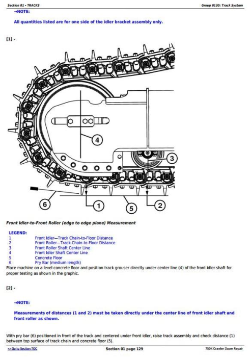 Fourth Additional product image for - John Deere 750K Crawler Dozer Diagnostic, Operation and Test Service Manual (TM12266)