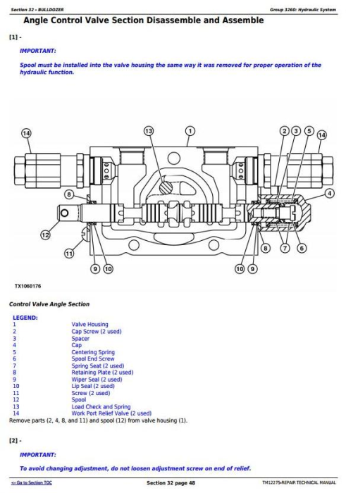 Third Additional product image for - John Deere 450J Crawler Dozer (S.N. from 216243) Service Repair Technical Workshop Manual (TM12275)