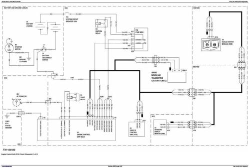 Second Additional product image for - John Deere 700K Crawler Dozer (S.N. 217278-275435) Diagnostic, Operation&Test Service Manual (TM12294)
