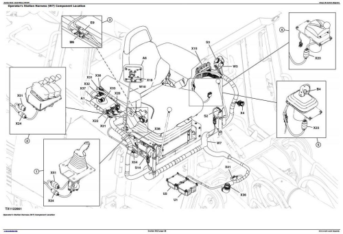 Second Additional product image for - John Deere 655K Crawler Loader Diagnostic, Operation and Test Service Manual (TM12720)