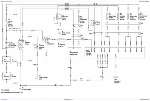 Second Additional product image for - John Deere 1050K Crawler Dozer (PIN: 1T01050K**F268234-) Diagnostic, Op & Test Manual (TM13096X19)