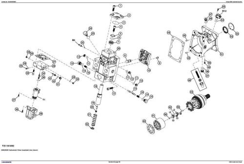 John Deere 1050K Crawler Dozer (PIN:1T01050K**F268234