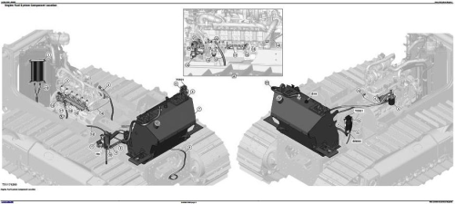 Second Additional product image for - John Deere 750K and 850K Crawler Dozer Diagnostic, Operation and Test Service Manual (TM13280X19)
