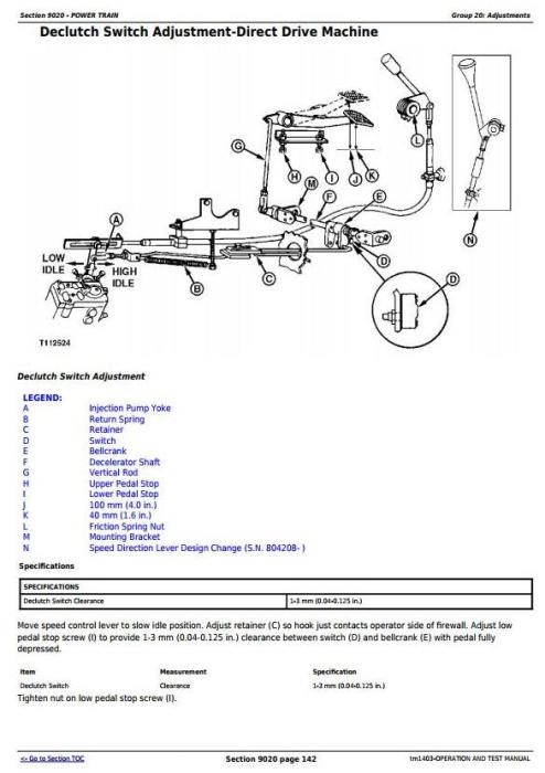 Fourth Additional product image for - John Deere 450G, 455G, 550G, 555G, 650G Crawler Dozer/Loader Diagnostic Workshop Service Manual (tm1403)