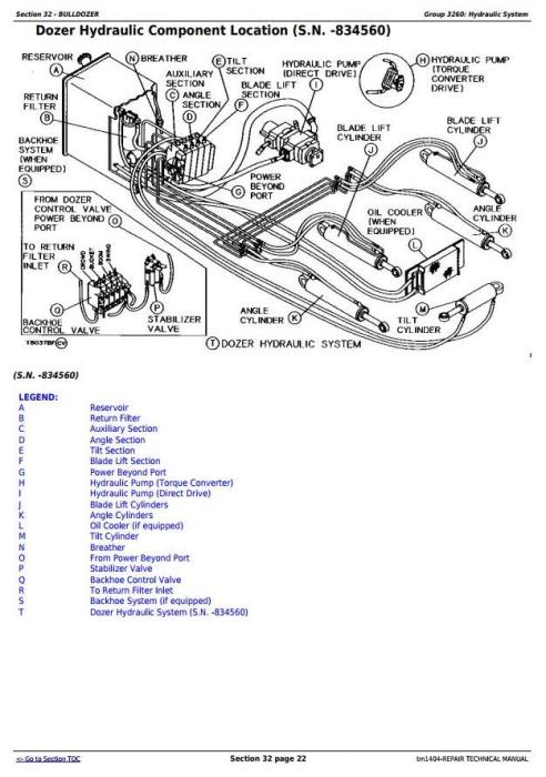Fourth Additional product image for - John Deere 450G, 550G, 650G Crawler Dozer; 455G, 555G Loader Service Repair Technical Manual (tm1404)