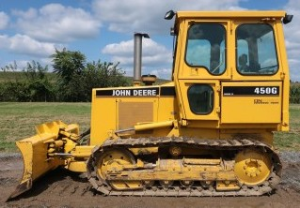 john deere 450g, 550g, 650g crawler dozer; 455g, 555g loader service repair technical manual (tm1404)