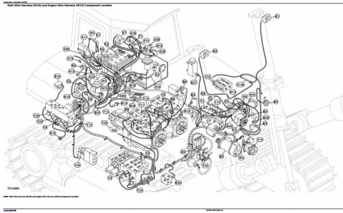 Fourth Additional product image for - John Deere 1050C Crawler Dozer Diagnostic, Operation and Test Service Manual (TM2300)