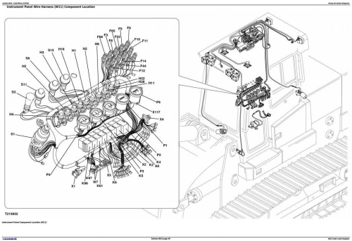 Fourth Additional product image for - John Deere 605C Crawler Loader Diagnostic, Operation and Test Service Manual (TM2353)