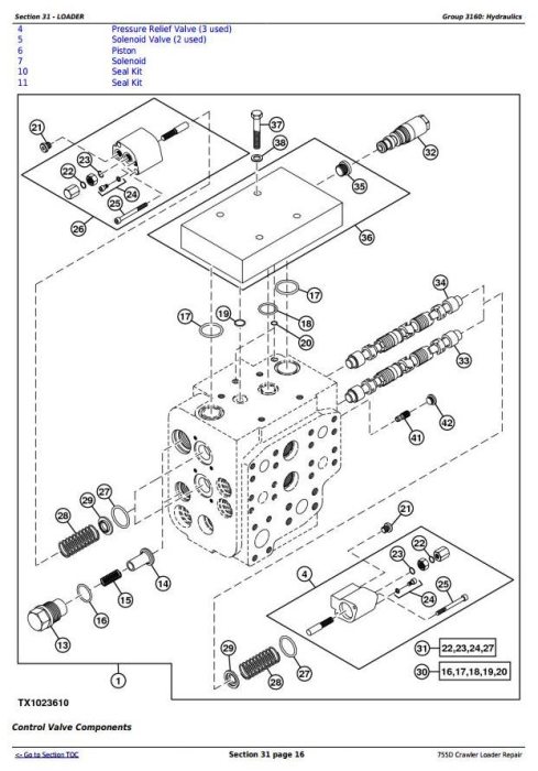 Third Additional product image for - John Deere 755D Crawler Loader Service Repair Technical Manual (tm2367)