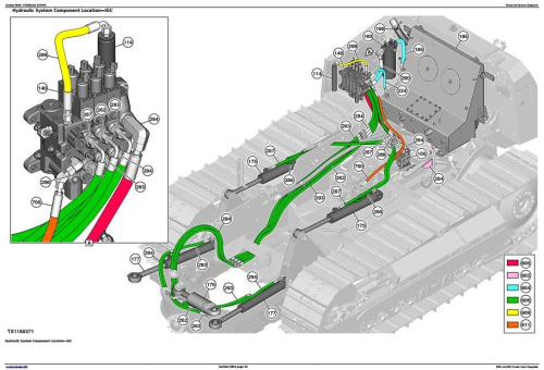 Second Additional product image for - John Deere 550K, 650K Crawler Dozer (S.N.from 275977) Diagnostic and Test Service Manual (TM13356X19)