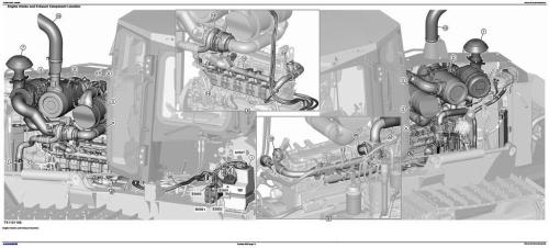 Second Additional product image for - John Deere 700K Crawler Dozer (PIN:1T0700KX__F275598-) Diagnostic & Test Service Manual (TM13358X19)