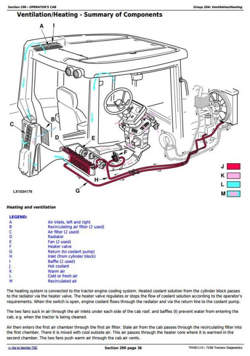 Second Additional product image for - John Deere 7330 2WD or MFWD Tractors Diagnosis and Tests Service Manual (TM401119)
