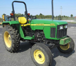 John Deere Tractors 5103, 5103S And 5203 Service All Inclusive Technical Manual (TM2041) | Documents and Forms | Manuals