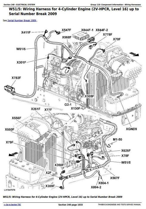 Second Additional product image for - John Deere Tractors 6130,6230, 6330,6430, 6530, 6534, 6630, 6830, 6930 Diagnostic Service Manual TM400419