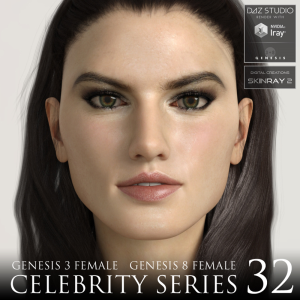 celebrity series 32 for genesis 3 and genesis 8 female