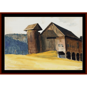 Barn and Silo - Hopper cross stitch pattern by Cross Stitch Collectibles | Crafting | Cross-Stitch | Other