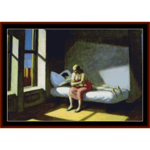 summer in the city - hopper cross stitch pattern by cross stitch collectibles