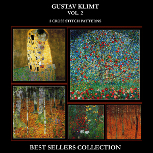 Gustav Klimt Best-Sellers Collection Vol. 2 by Cross Stitch Collectibles | Crafting | Cross-Stitch | Other