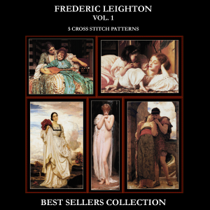 Frederic Leighton Best Sellers Collection cross stitch patterns by Cross Stitch Collectibles | Crafting | Cross-Stitch | Other