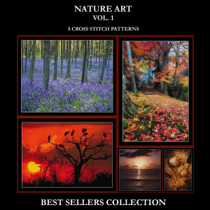 nature best sellers collection cross stitch patterns by cross stitch collectibles