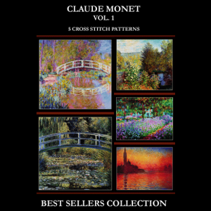 Monet Best Sellers Collection Vol. 1 cross stitch patterns by Cross Stitch Collectibles | Crafting | Cross-Stitch | Other