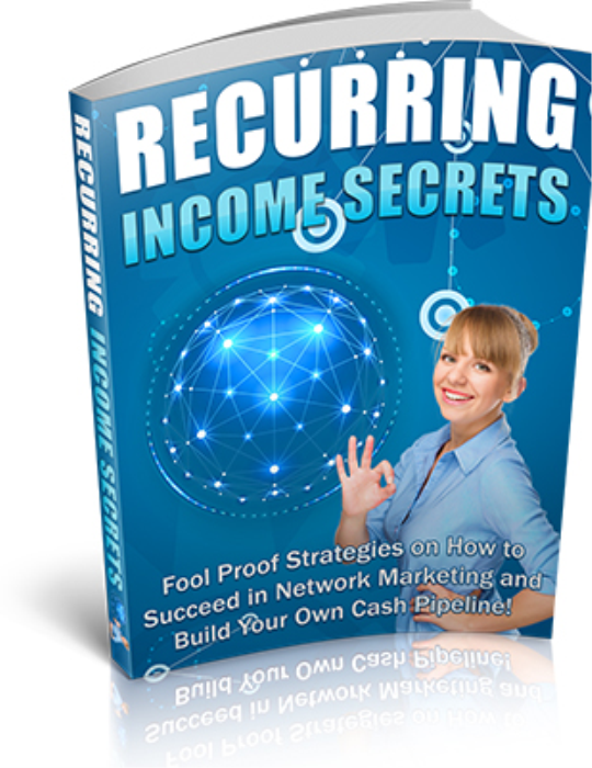 First Additional product image for - Recurring Income Secrets