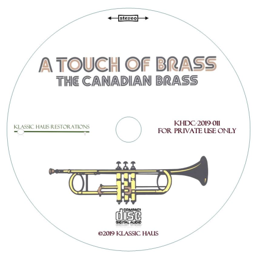 Second Additional product image for - A Touch of Brass - The Canadian Brass