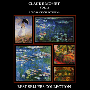 Monet Best Sellers Collection Vol. 2  cross stitch patterns by Cross Stitch Collectibles | Crafting | Cross-Stitch | Other