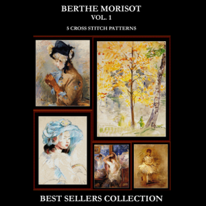 Berthe Morisot Best Sellers Collection cross stitch patterns by Cross Stitch Collectibles | Crafting | Cross-Stitch | Other