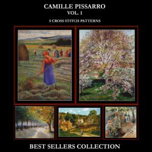 camille pissarro best sellers collection cross stitch patterns by cross stitch collectibles