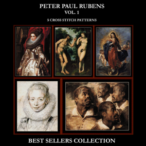rubens best sellers collection cross stitch patterns by cross stitch collectibles