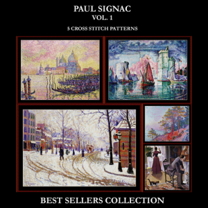 Paul Signac Best Sellers Collection cross stitch patterns by Cross Stitch Collectibles | Crafting | Cross-Stitch | Other