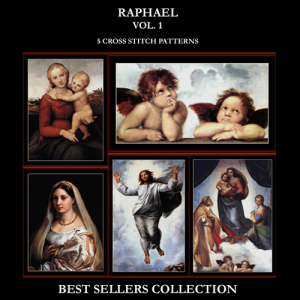 raphael best sellers collection cross stitch patterns by cross stitch collectibles