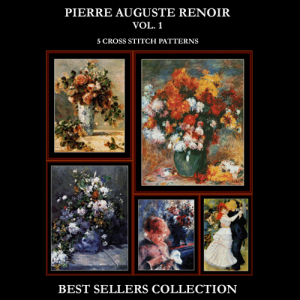 Renoir Best Sellers Collection cross stitch patterns by Cross Stitch Collectibles | Crafting | Cross-Stitch | Other