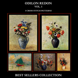 Redon Best Sellers Collection cross stitch patterns by Cross Stitch Collectibles | Crafting | Cross-Stitch | Other