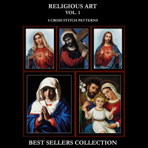 Religious Best Sellers Collection cross stitch patterns by Cross Stitch Collectibles | Crafting | Cross-Stitch | Other