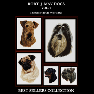 Robert J. May Best Sellers Collection cross stitch patterns by Cross Stitch Collectibles | Crafting | Cross-Stitch | Other