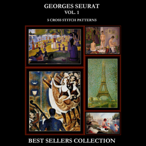 Seurat Best Sellers Collection cross stitch patterns by Cross Stitch Collectibles | Crafting | Cross-Stitch | Other