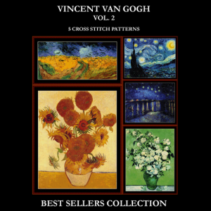 Van Gogh Best Sellers Collection Vol. 2 cross stitch patterns by Cross Stitch Collectibles | Crafting | Cross-Stitch | Other