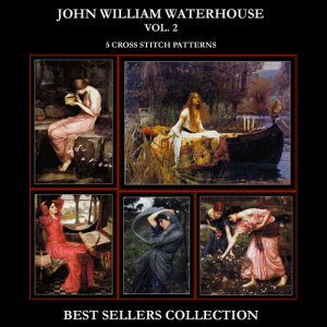 Waterhouse Best Sellers Collection Vol. 2 cross stitch patterns by Cross Stitch Collectibles | Crafting | Cross-Stitch | Other