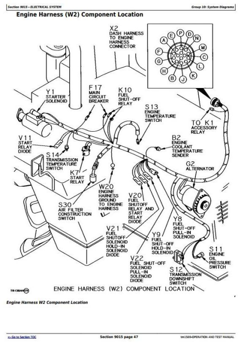 Second Additional product image for - John Deere 862B Scraper (SN. from 793083-) Diagnostic, Operation and Test Service manual (tm1569)