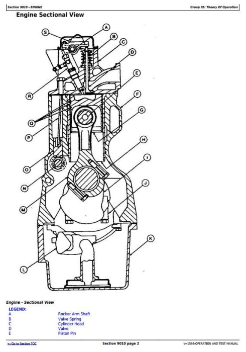 Fourth Additional product image for - John Deere 862B Scraper (SN. from 793083-) Diagnostic, Operation and Test Service manual (tm1569)