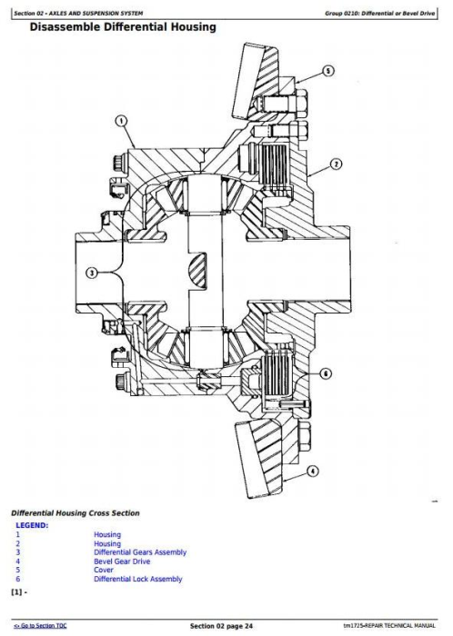 Fourth Additional product image for - John Deere 862B Series II Scraper (SN. 818323-) Service Repair Technical  Manual (tm1725)