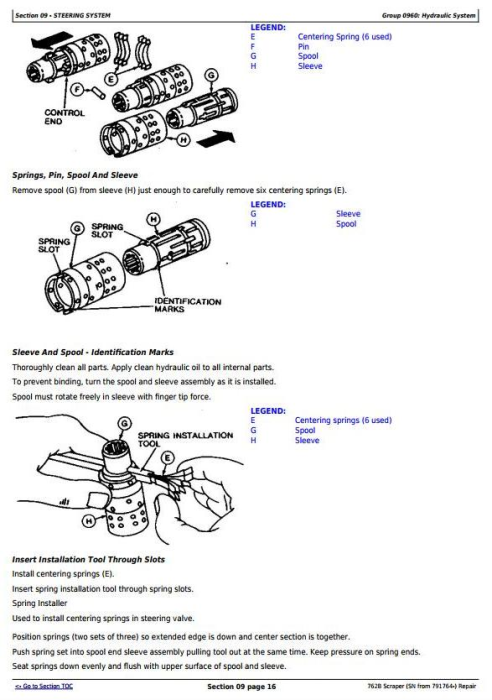 Second Additional product image for - John Deere 762B  (SN from 791764-) Scraper Service Repair Technical Manual (tm1568)