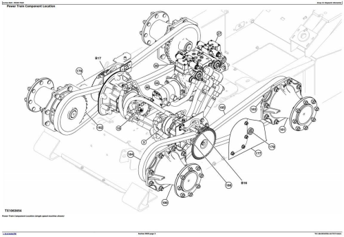 Second Additional product image for - John Deere 318D, 320D Skid Steer Loader with EH Controls Diagnostic & Test Service Manual (TM11406)