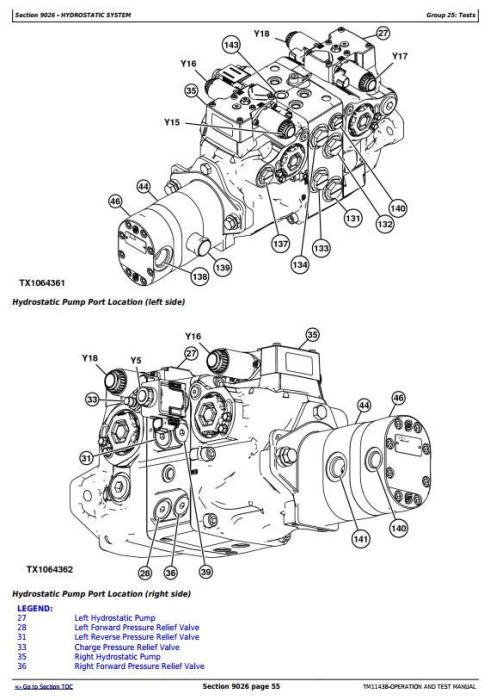 Third Additional product image for - John Deere 326D, 328D, 332D Skid Steer Loader w.EH Controls Diagnostic&Test Service Manual (TM11438)