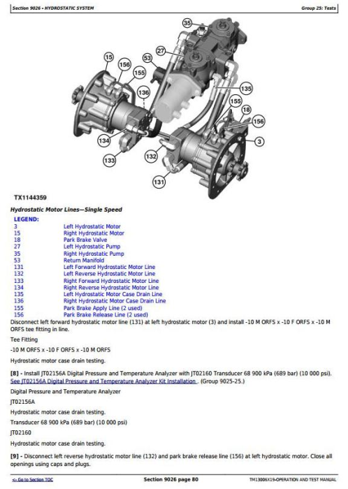 Third Additional product image for - John Deere 318E, 320E Skid Steer Loaders with Manual Controls Diagnostic Service Manual (TM13006X19)